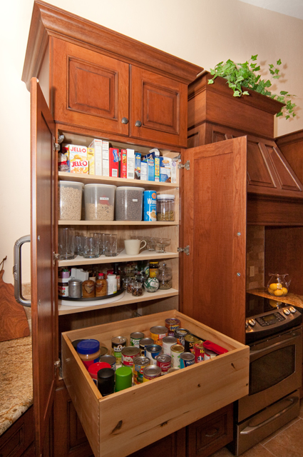 Adding storage to your tucson kitchen pt 1 canyon for Adding drawers to existing kitchen cabinets